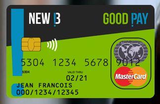 NewB lanceert de eerste duurzame en ethische betaalkaart ter wereld!