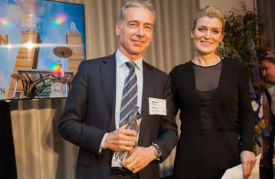 "RobecoSAM wins Institutional Investor magazine's ""ESG Manager of the Year"" award"