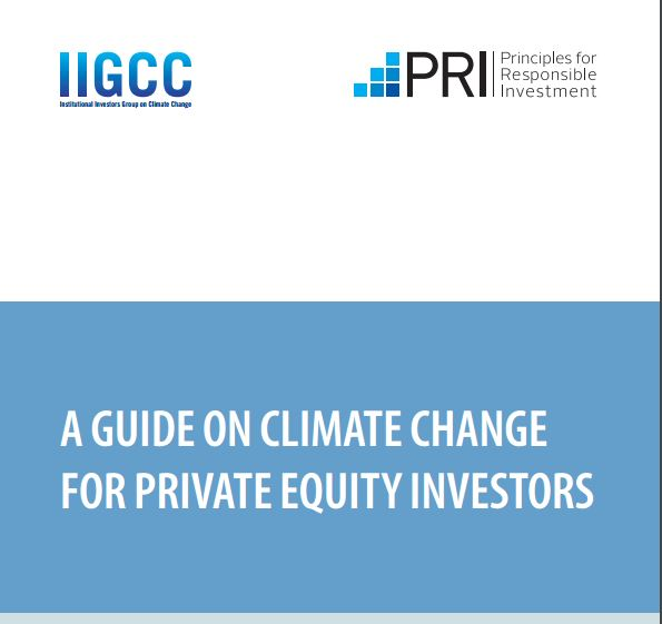 A guide on climate change for private equity investors 2016