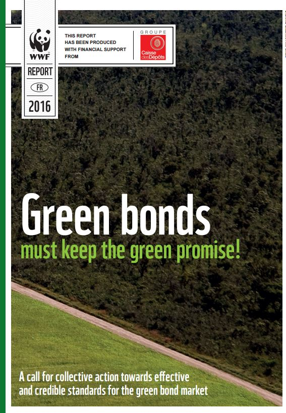 WWF calls for industry standards in the Green Bond market to bolster a sustainable economy