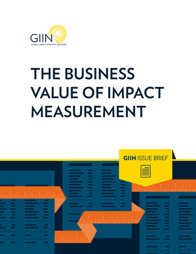 The Business Value of Impact Measurement