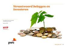 Beleggers in private equity hebben groot vertrouwen in de toegevoegde (financiële) waarde van verantwoord investeren