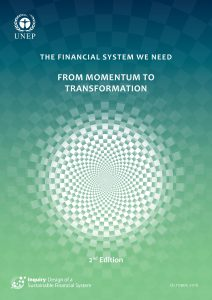 The Financial System We Need: From Momentum to Transformation