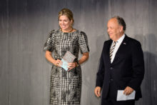 Hare Majesteit Koningin Máxima aanwezig bij Future of Finance conferentie van FMO