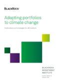 Adapting portfolios to climate change