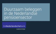 DNB: Duurzaam beleggen in pensioensector groeit door