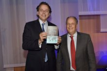 Minister Koenders receives first copy 'Banking for a better world'