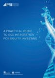 PRI launches A practical guide to ESG integration for equity investing