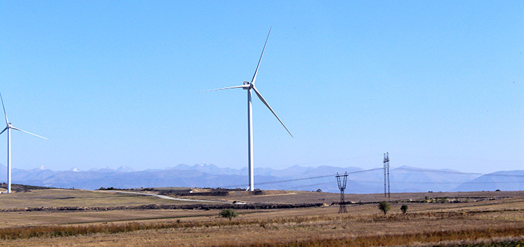 Oikocredit and Triodos Groenfonds contributed in financing the first wind farm in Georgia