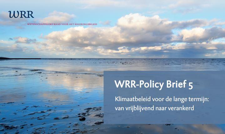 WRR adviseert een oprichting publieke investeringsbank voor realiseren klimaatambities