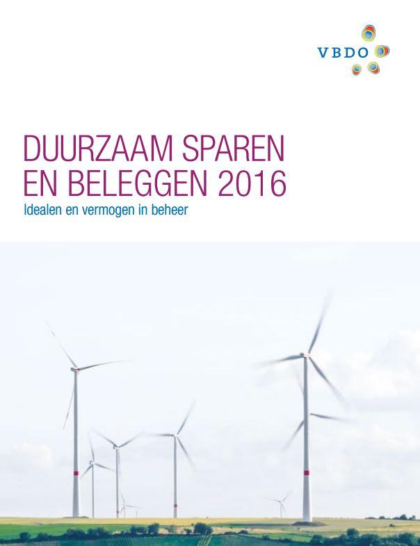 Ruim 11% groei van duurzaam sparen en beleggen in 2015