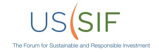 US SIF Foundation Releases 2016 Biennial Report On US Sustainable, Responsible And Impact Investing Trends