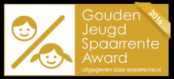 ASN Jeugdsparen wint Gouden Jeugdspaarrente Award