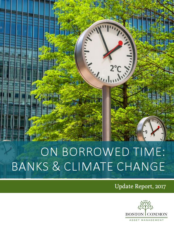 New Report Finds Banks Making Slow Progress in Fast Changing Climate