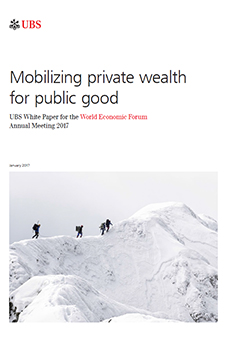 UBS white paper: Mobilizing private wealth for public good
