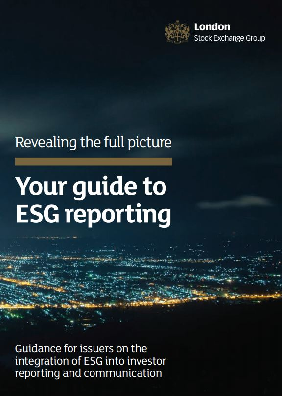 London Stock Exchange Group launches guidance for ESG Reporting