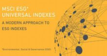 MSCI Launches ESG Universal Equity Indexes for LongTerm Global Investors
