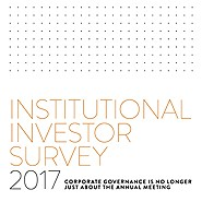 Institutional investors want better disclosure of Environmental, Social, and Governance (ESG)