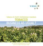 Helft institutionele beleggers geen beleid op tabak