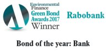 Rabobank winner Environmental Finance Green Bond Awards