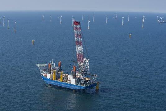 Windpark Nobelwind mede-gefinancierd door 5000 Nederlandse en Belgische particulieren