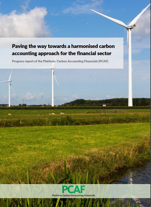 Platform for Carbon Accounting Financials (PCAF) published a progress report