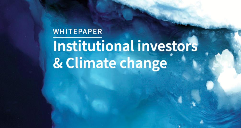 VBDO publiceert white paper voor institutional investors over klimaatverandering