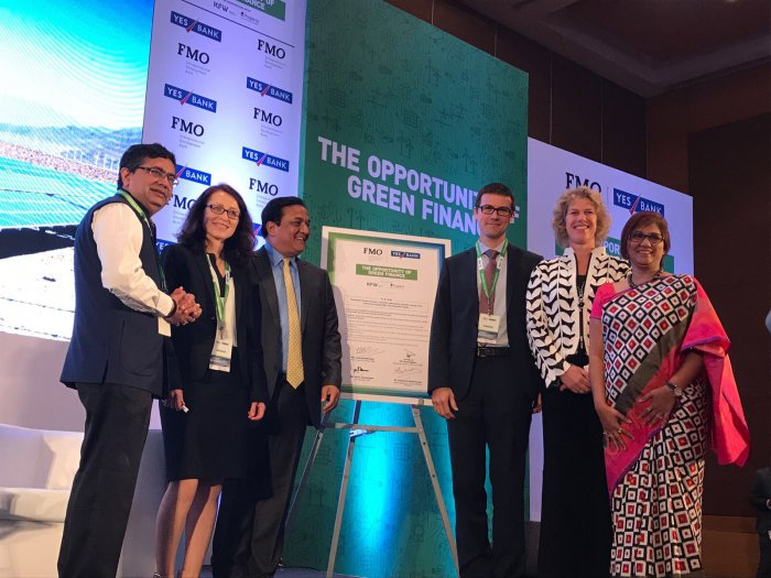 YES BANK from India signs Green Finance charter with FMO, DEG and Proparco