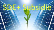 SDE+ regeling voorjaar 2017: Verdubbeling duurzame energieprojecten, zonnestroom voor het eerst koploper