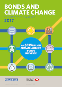 Climate Bonds State of the Market Report 2017: Green bonds & climate-aligned universe now stands at $895bn