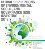 Nearly 75% of investment professionals worldwide take ESG factors into consideration in the investment process