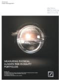 Deutsche AM berekent impact klimaatrisico's op beleggingen