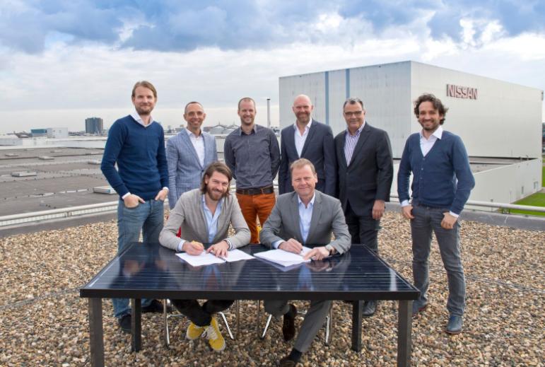 Nissan realiseert grootste collectieve zonnedak van Nederland
