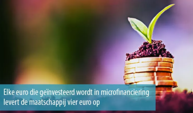 Microfinanciering heeft een sociale ROI van viermaal de investering