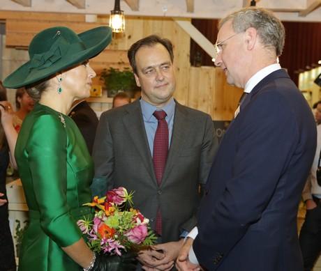 Volkert Engelsman (Eosta) doet via koningin Máxima een appèl aan financiële sector