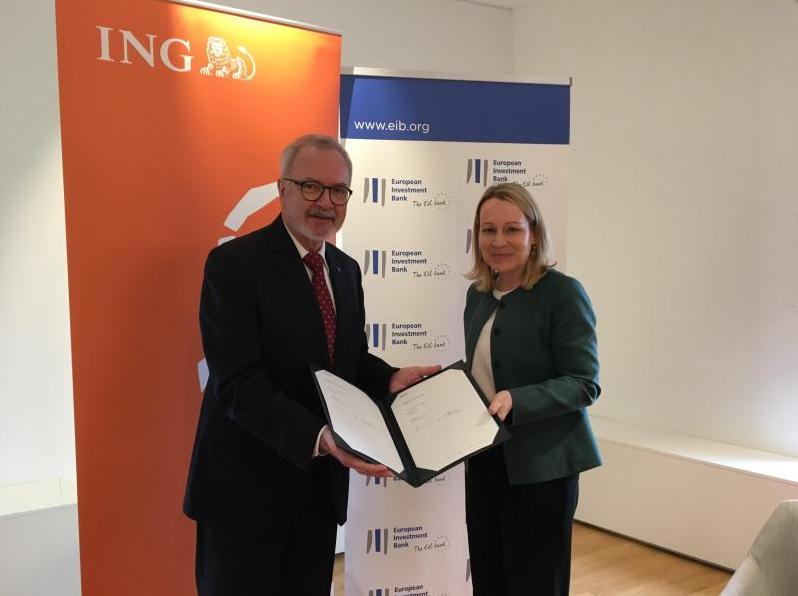 ING en EIB verstrekken EUR 300 miljoen om groene scheepvaart te financieren