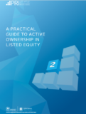 PRI publishes guide on active ownership in listed equity