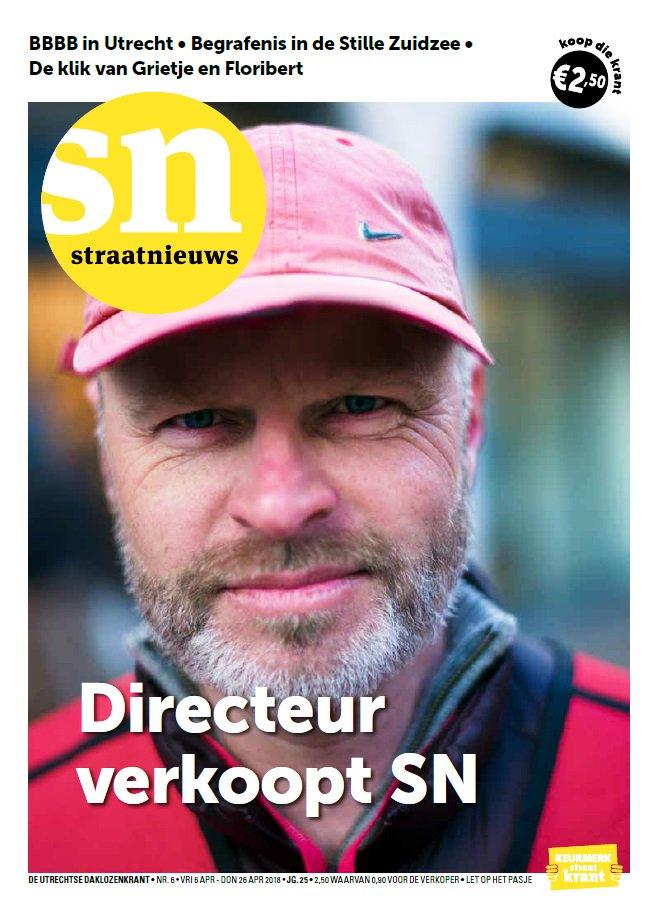 Directeur Oikocredit Nederland kruipt in huid Straatnieuws-verkoper