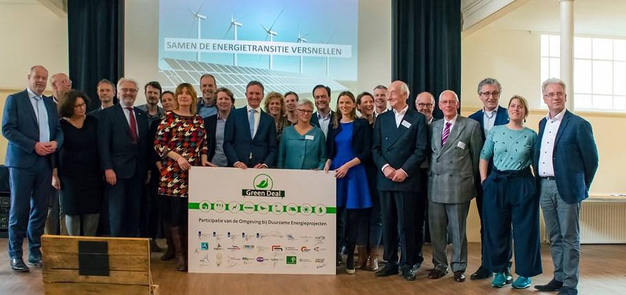 Green Deal participatie van de omgeving bij duurzame energieprojecten