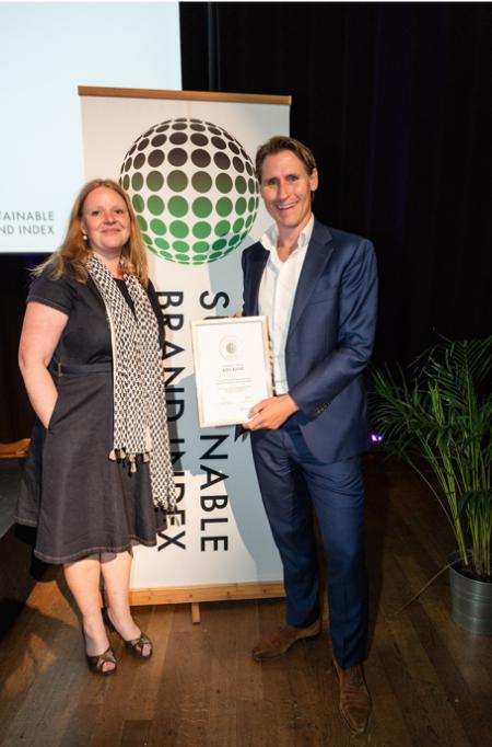ASN Bank meest duurzame merk onder de banken volgens Nederlandse consumenten