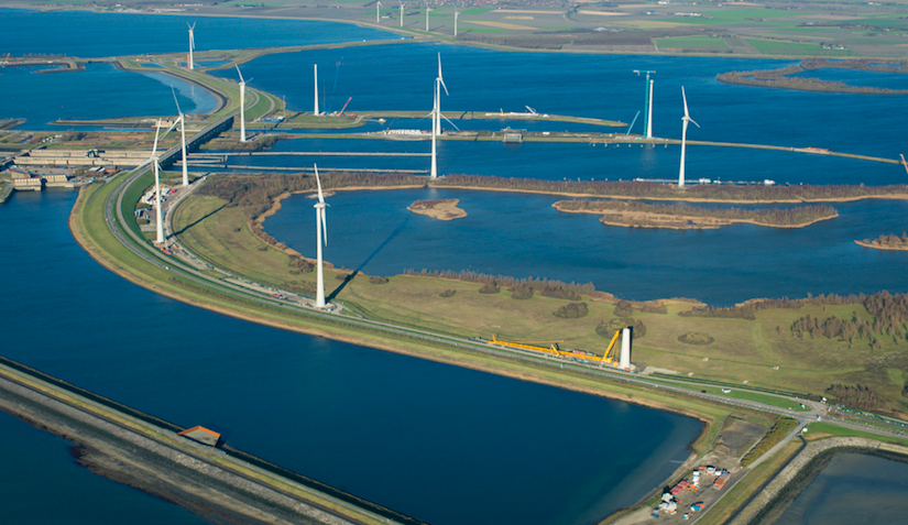 ABP neemt belang in groot Nederlands windpark