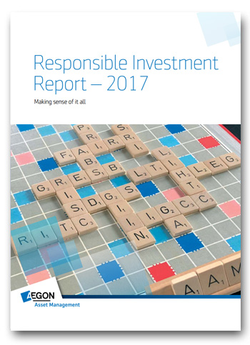 Aegon publishes seventh Responsible Investment Report