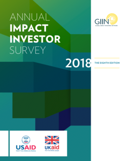 Global Impact Investing Network expects 8 procent growth of impact investing in 2018