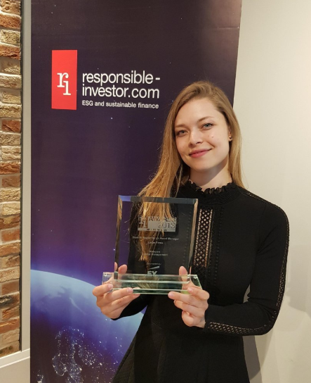 Kempen wint RI Reporting Award 2018