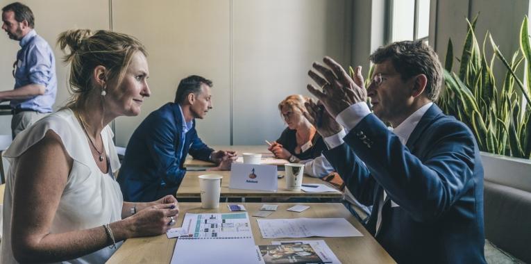 Duurzaam geld vond ondernemer: geslaagde matchmaking-event
