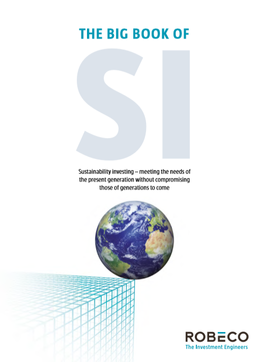 Robeco published 'The Big Book of Sustainable Investing'