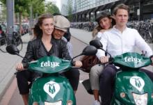 Elektrische deelscooterdienst felyx haalt €3 mln op voor uitbreiding naar Rotterdam