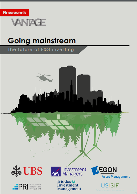 Newsweek report: 'Going mainstream: The Future of ESG investing'
