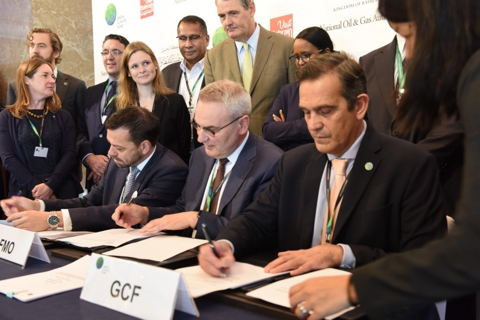 Green Climate Fund strengthens partnership with FMO to combat climate change