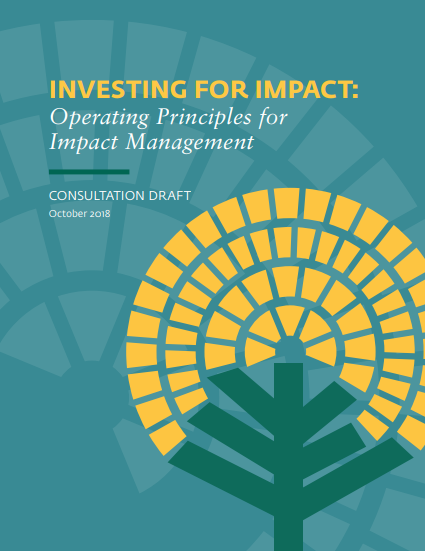 IFC Guidelines Seek to Steer Trillions Held by Institutional Investors into Impact Investing